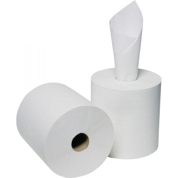 """Skilcraft Center Pull Paper Towel Rolls, 3.70"""" x 2,000 ft, 2-Ply, White, 6 Rolls/ Box"""