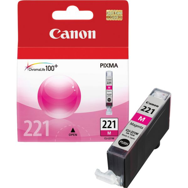 Canon CLI-221M Magenta Ink Cartridge (2948B001)