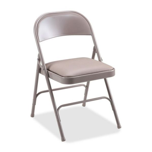 Lorell Steel Padded Folding Chairs