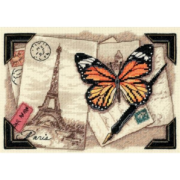 Dimensions Gold Petite Travel Memories Counted Cross Stitch Kit