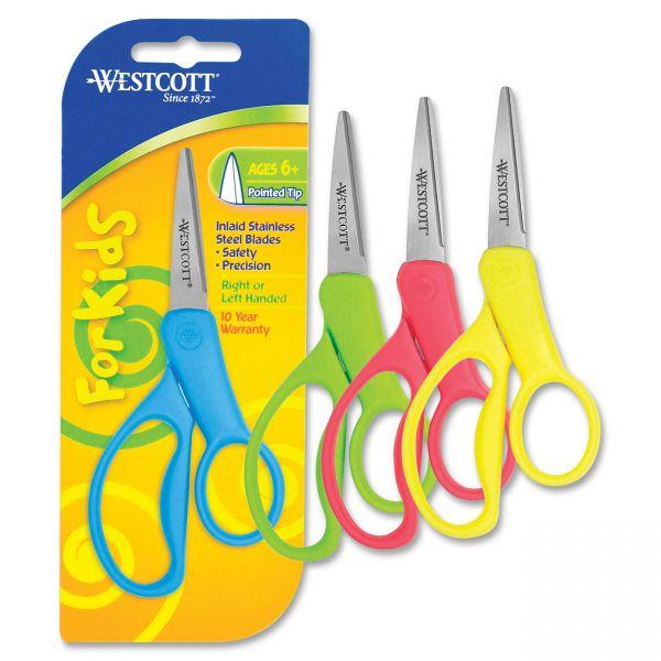 Westcott Junior Soft-Grip Scissors