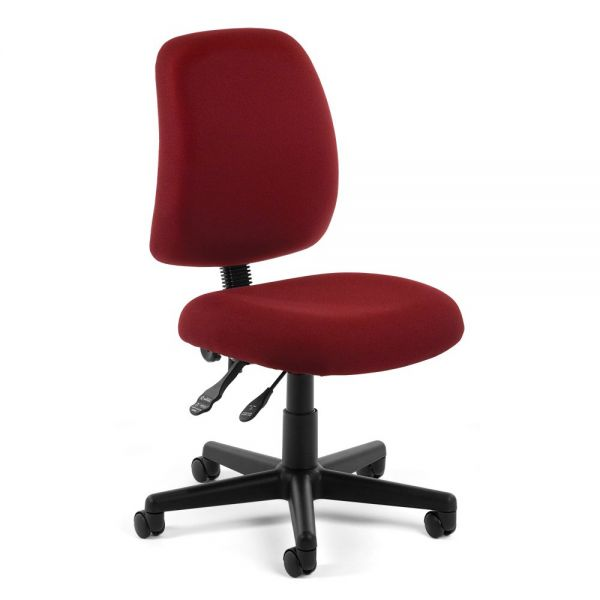 OFM Posture Series Armless Swivel Task Chair