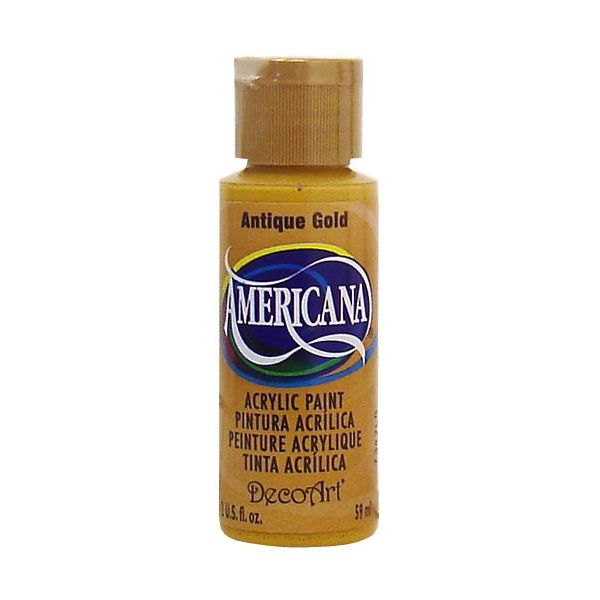 Deco Art Americana Antique Gold Acrylic Paint