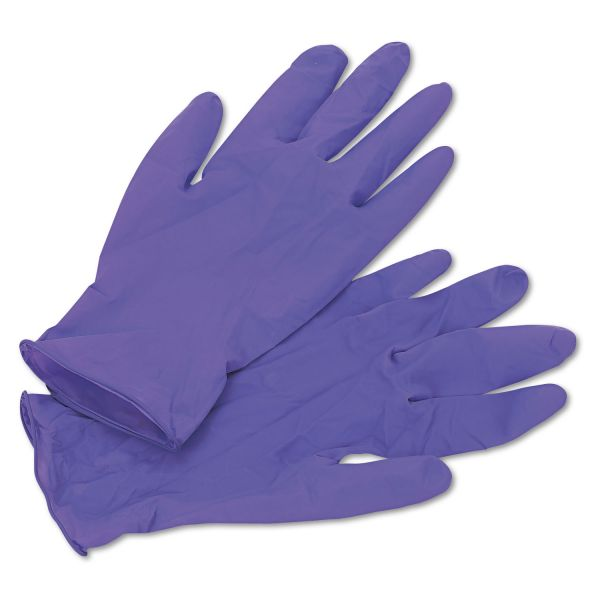 Kimberly-Clark Professional* PURPLE NITRILE Exam Gloves, 242 mm Length, Medium, Purple, 100/Box