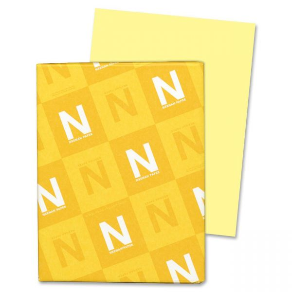 Neenah Paper Exact Index Canary Colored Card Stock
