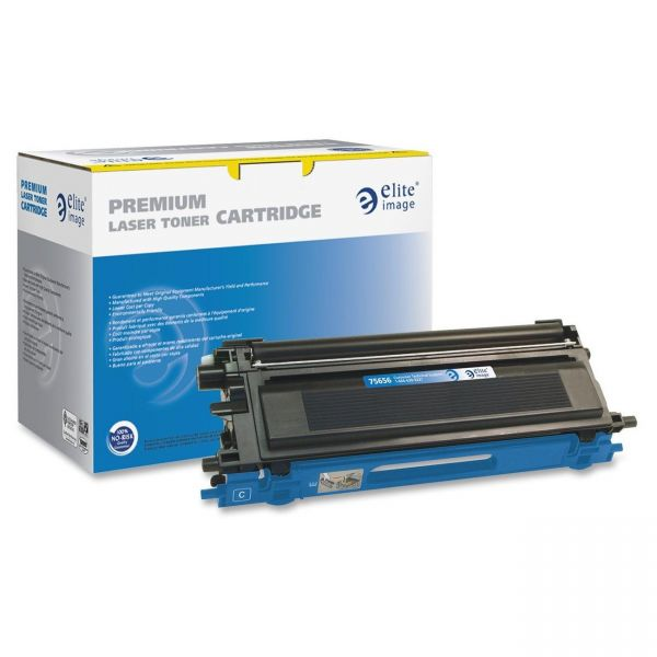 Elite Image Remanufactured Brother TN110C Toner Cartridge