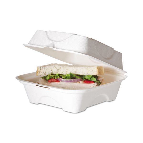 Eco-Products Takeout Bagasse Clamshell Food Containers