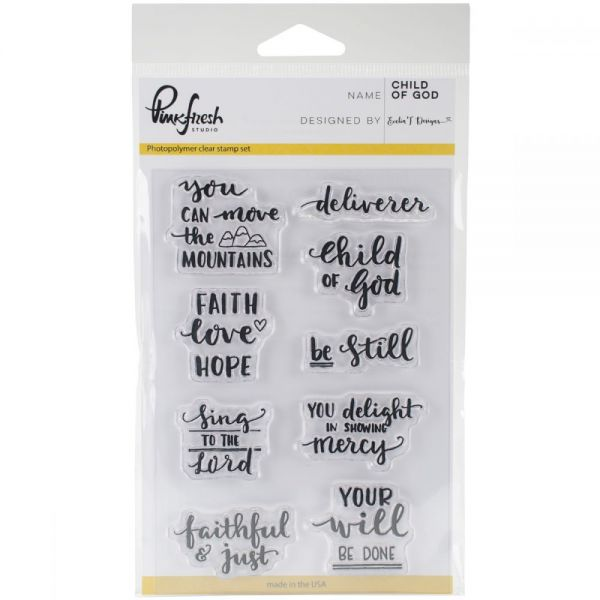 "Pinkfresh Studio Clear Stamp Set 4""X6"""