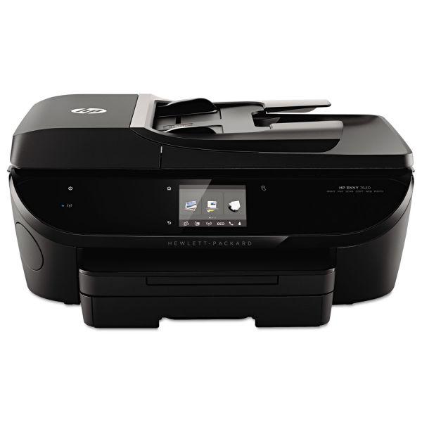 HP ENVY 7640 Wireless e-All-in-One Printer, Copy/Fax/Print/Scan