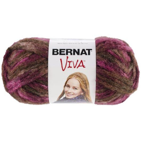 Bernat Viva Yarn - Burgundy