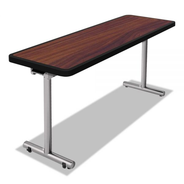 Nomad by Palmer Hamilton aero Mobile Folding Table, 60 x 24 x 29, Walnut