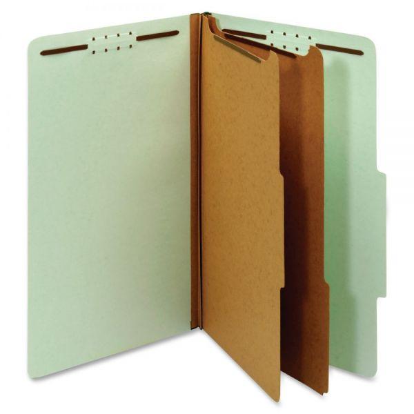 Globe-Weis 100% Recycled Classification Folders