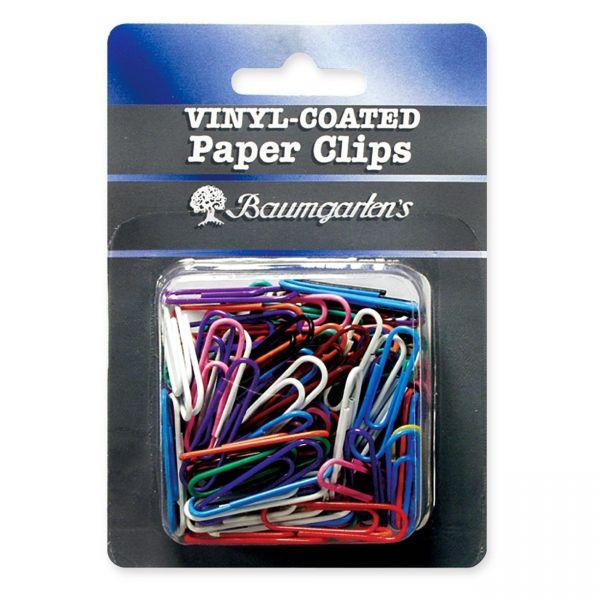 Baumgartens #1 Vinyl-Coated Paper Clips