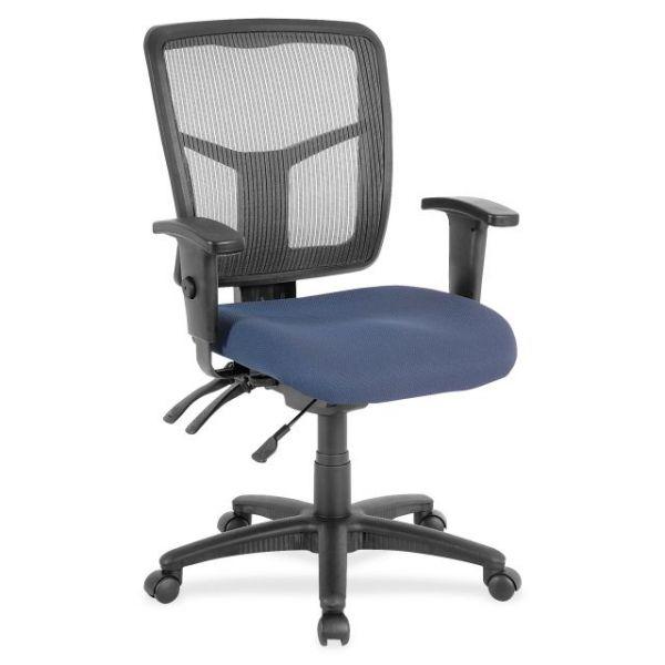Lorell Swivel Mid-Back Mesh Chair