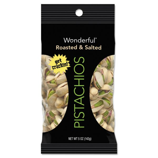 Wonderful Dry Roasted & Salted Pistachios