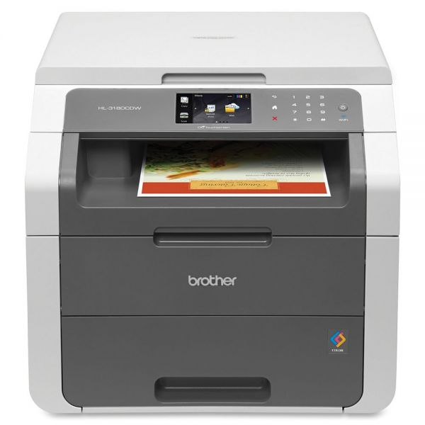 Brother HL-3180CDW LED Multifunction Printer - Color - Duplex
