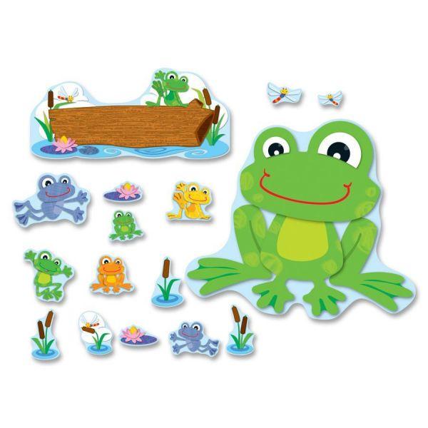 Carson-Dellosa FUNky Frogs Bulletin Board Set