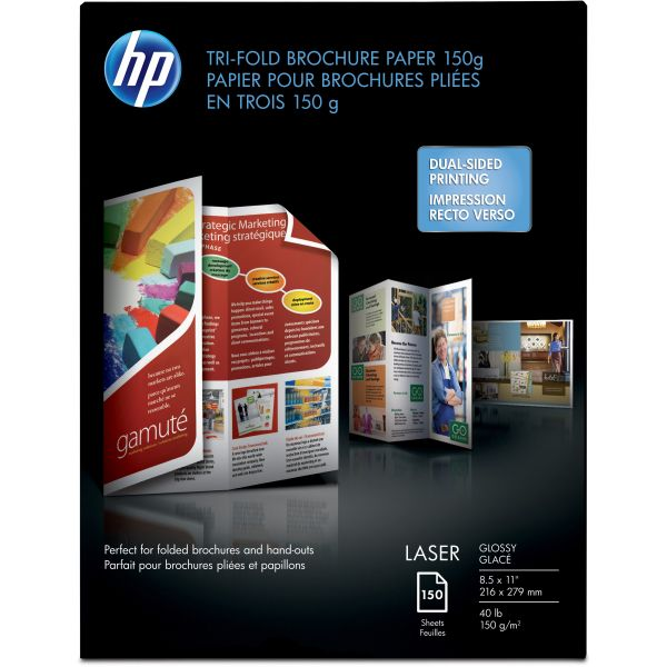 HP Tri-Fold Brochure Printer Paper
