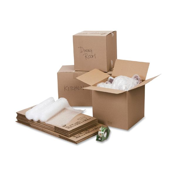 Duck Brand Moving Kit with Bubble Wrap