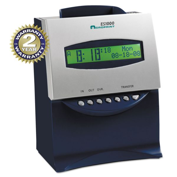 Acroprint ES1000 Time Clock & Recorder