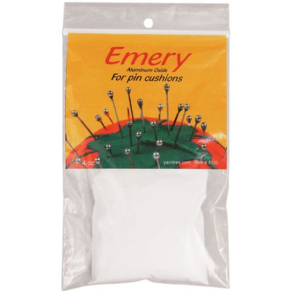 White Emery For Pincushions