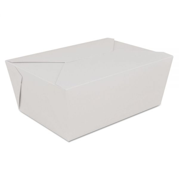 SCT ChampPak Tuck-Flap Retro Carryout Boxes