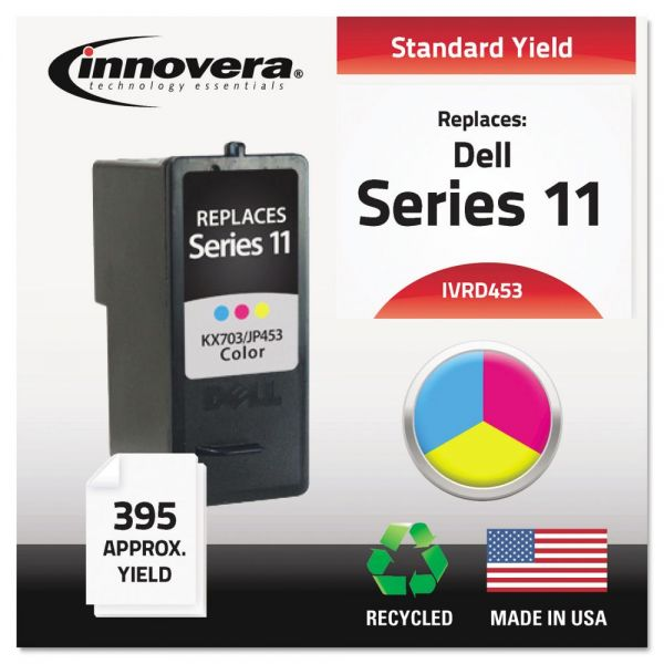 Innovera Remanufactured KX703 (Series 11) High-Yield Ink, Tri-Color