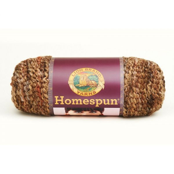 Lion Brand Homespun Yarn - Barley