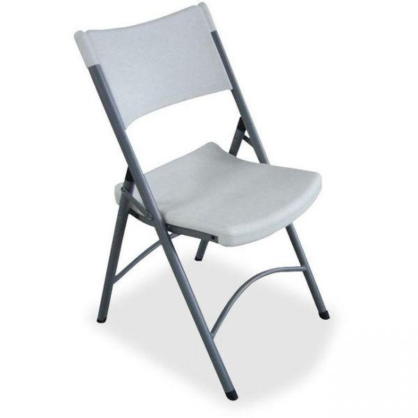 Lorell Heavy-duty Plastic Folding Chairs