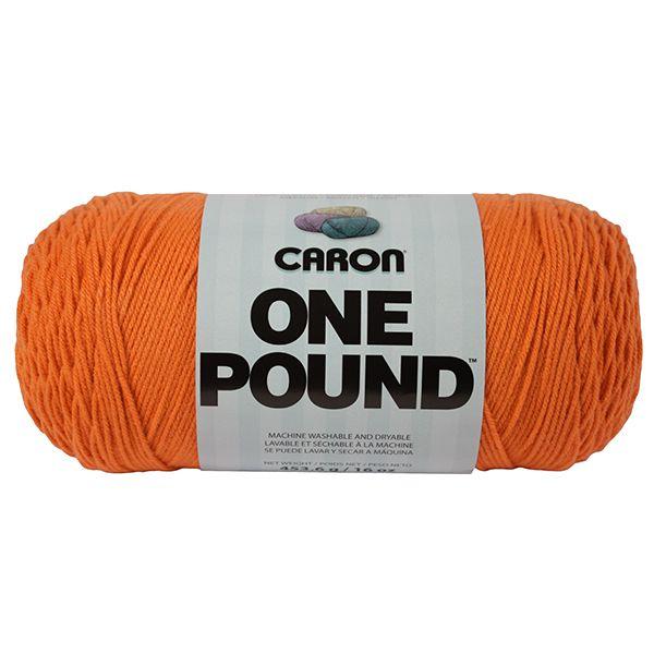Caron One Pound Yarn - Pumpkin