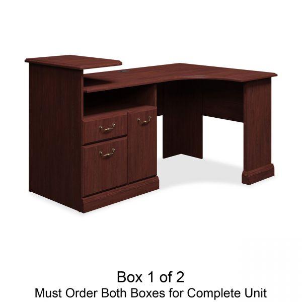bbf Syndicate Corner Office Desk by Bush Furniture *Box 1 of 2