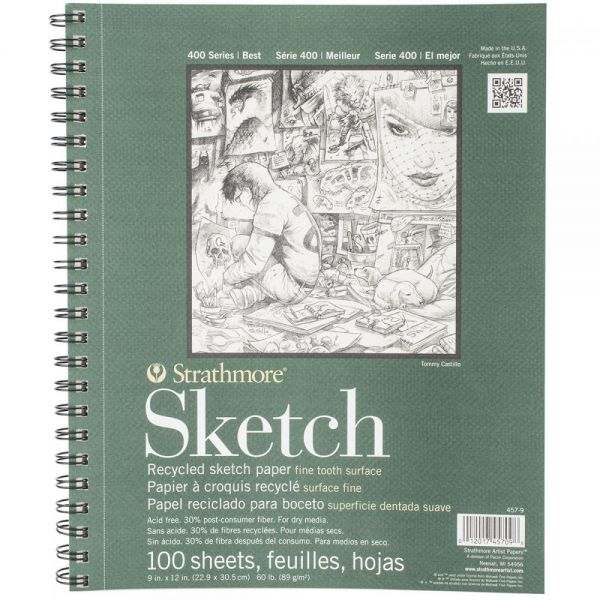 Strathmore Premium Recycled Acid Free Sketch Book