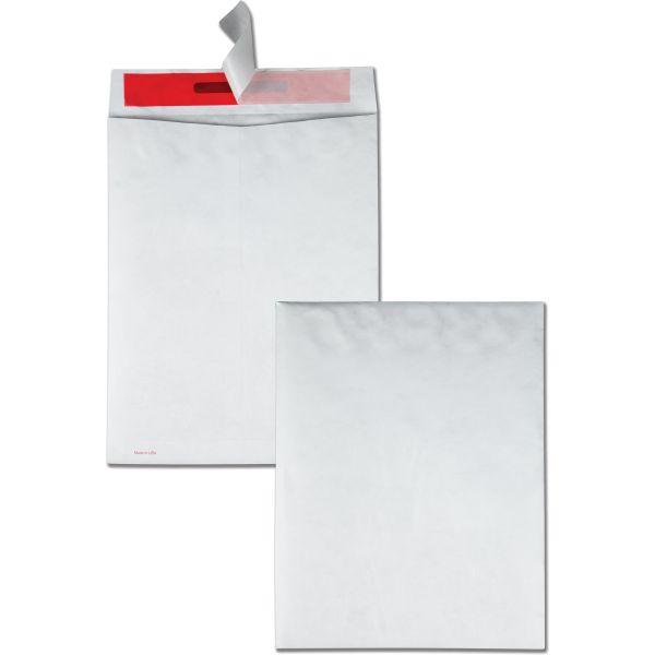 "Quality Park 10"" x 13"" Tamper-Indicating Tyvek Envelopes"