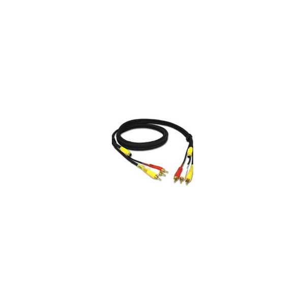 C2G 25ft Value Series 4-in-1 RCA + S-Video Cable