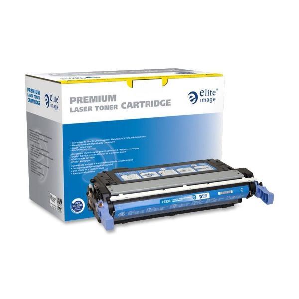 Elite Image Remanufactured HP CB401A Toner Cartridge
