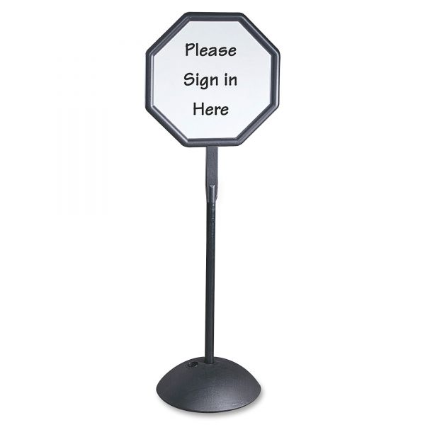 Safco WriteWay Octagon Dry-Erase Sign
