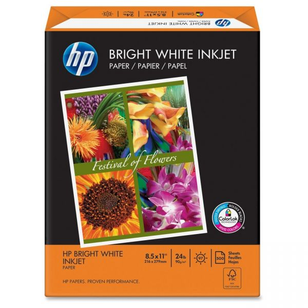 HP Bright White Inkjet Inkjet Paper