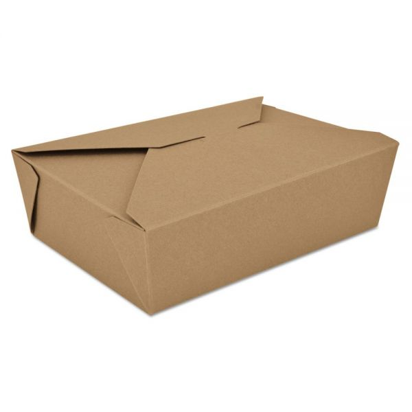SCT ChampPak Retro Carryout Boxes, Kraft, 7-3/4 x 5-1/2 x 2-1/2, Brown