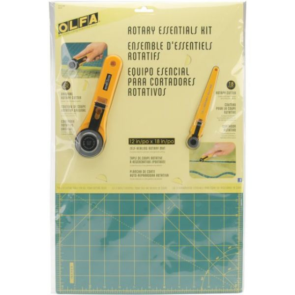 OLFA Rotary Essentials Kit