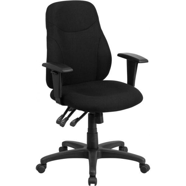 Flash Furniture Mid-Back Multi-Functional Ergonomic Swivel Task Chair