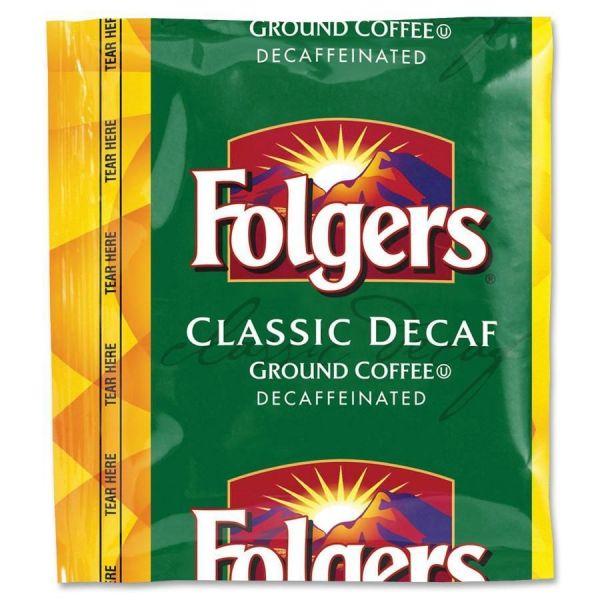 Folgers Ground Coffee Packs - Decaf