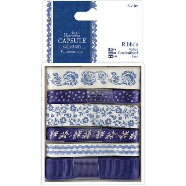 Papermania Parisienne Blue Ribbon