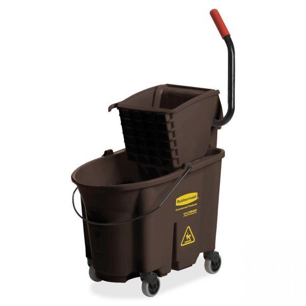 Rubbermaid WaveBrake Bucket & Wringer Combination