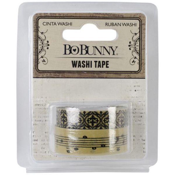 """BoBunny Washi Tape .625""""X15yd & .375""""X15yd 2/Pkg"""
