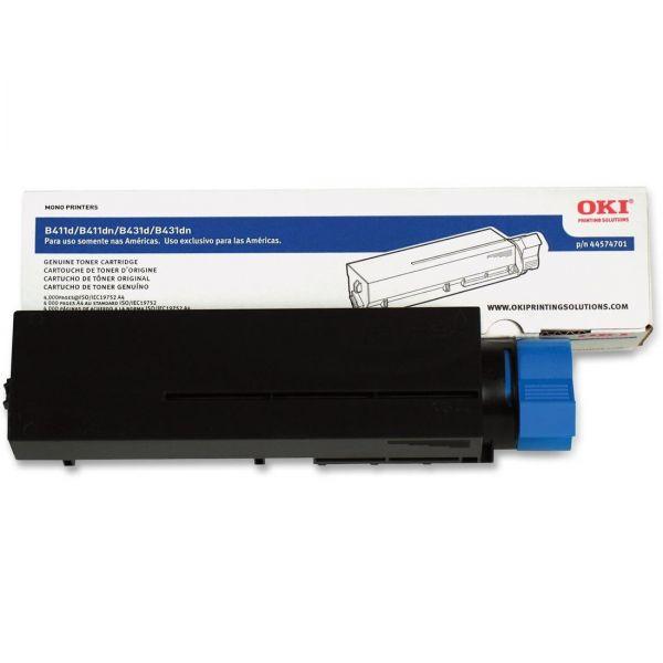 Oki 44574701 Black Toner Cartridge