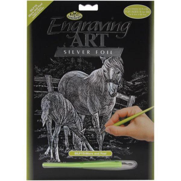 Silver Foil Engraving Art Kit