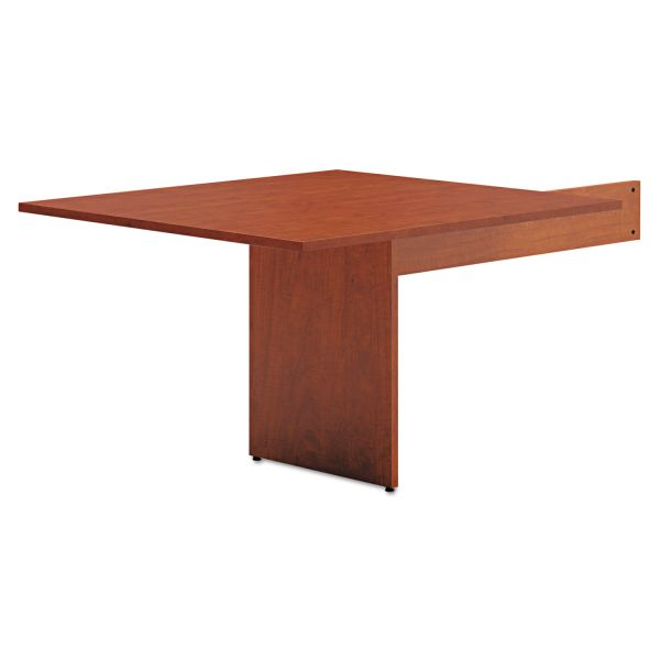 basyx BL Laminate Series Rectangle-Shape Modular Table End, 48 x 44 x 29.5, Med Cherry