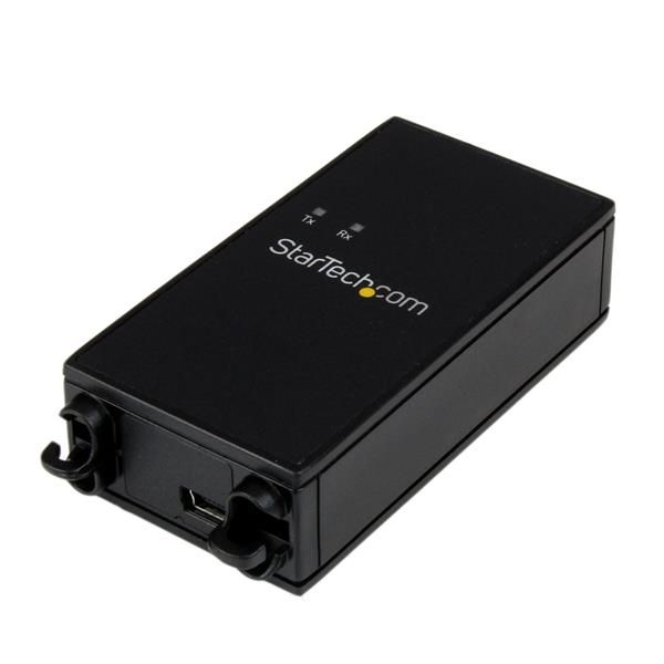 StarTech.com 1 Port Industrial USB to RS232 Serial Adapter with 5KV Isolation and 15KV ESD Protection