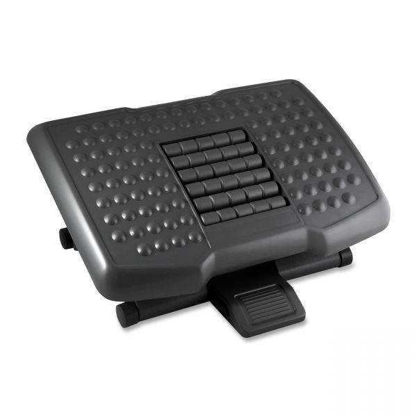 Kantek Premium Ergonomic Footrest w/Rollers