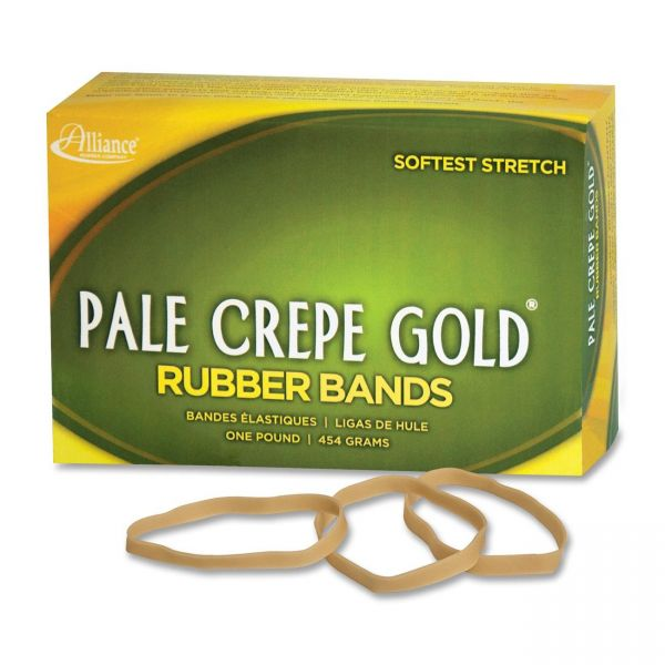 Pale Crepe Gold #64 Rubber Bands